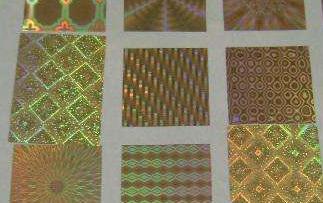 镭射防伪标图案制作方法,有哪些制作